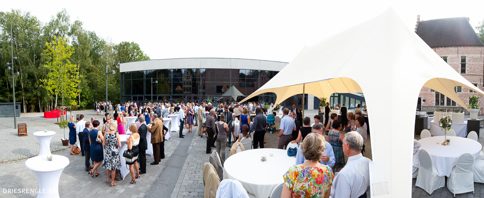 Hangar 58 trouwzaal Limburg Genk Dries Renglé