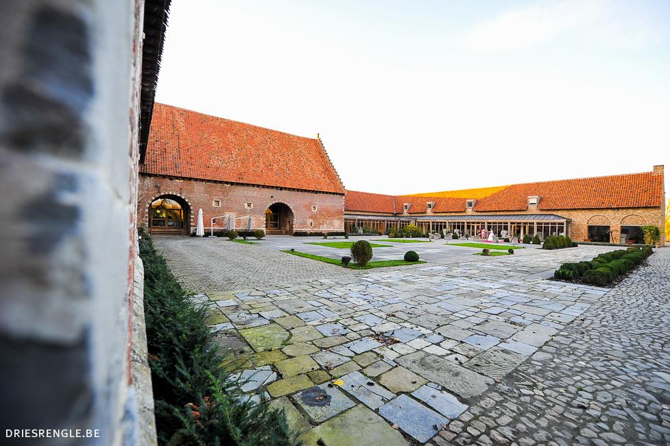 kasteel van hoen feestzaal huwelijk vlaams brabant